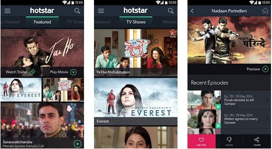 Download hotstar apk for free android latest version gosolo | Peatix