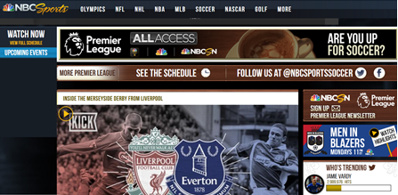 Watch EPL on NBCSN