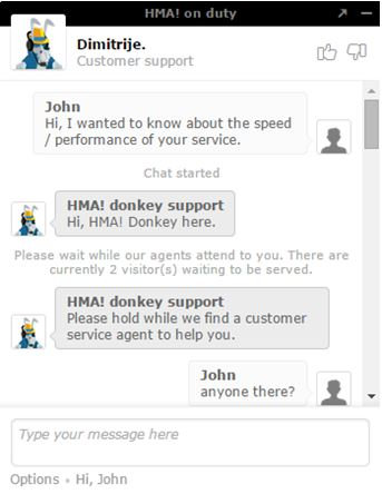 HidemyAss customer support