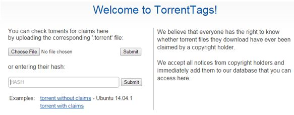 Torrent Tags