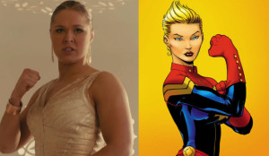 Rousey and Miss Marvel
