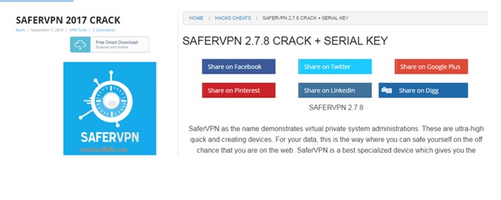 how to crack safervpn
