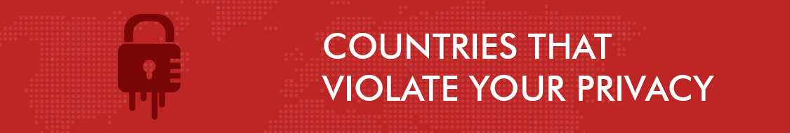 Countries that Violate Your Privacy