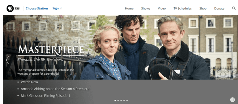 how to watch sherlock live online