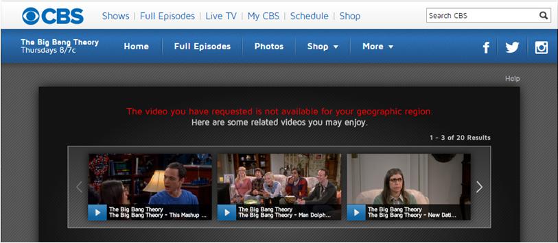 how to watch CBS online