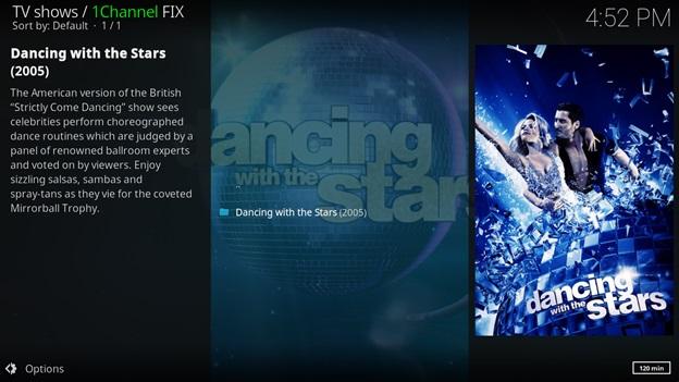 How to Watch Dancing with the Stars Season 25 on kodi