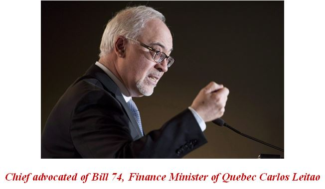 Finance Minister of Quebec Carlos Leitao