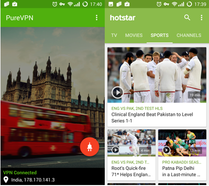 Watch Olympics on HotStar