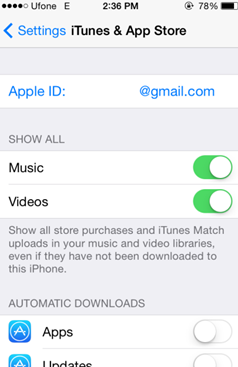 iTunes and App Store