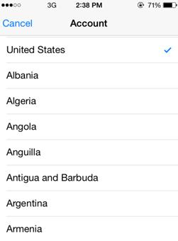 VPN Countries