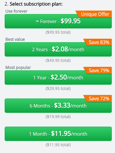 Hotspot Shield Pricing Preview