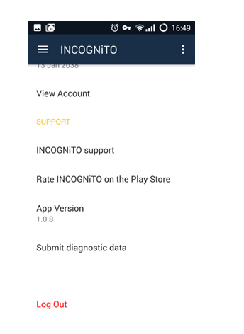 Incognito VPN Rating Review