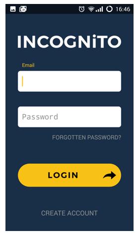 Incognito App Preview