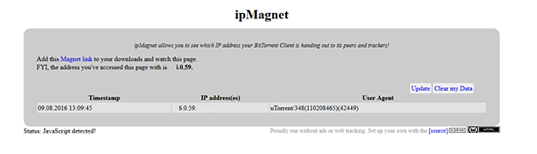 Ip Magnet Preview - Without VPN