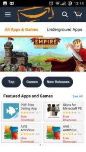 Amazone underground app