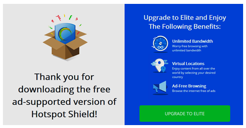 Hotspot Shield Review for PC