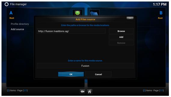 Guide: Step 2 Installing USTVNOW on Kodi