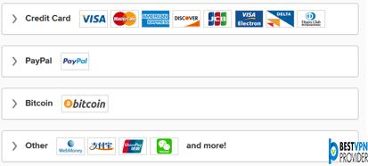 expressvpn payment methods review