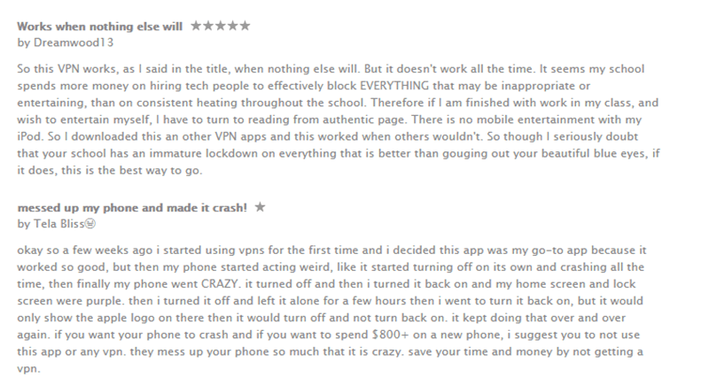 hotspot shield elite ipad app user reviews