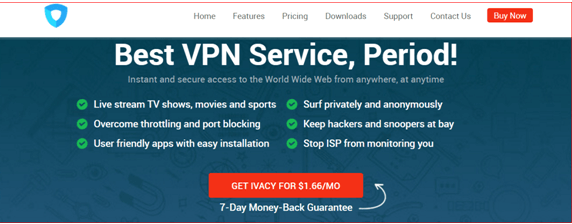 ivacy vpn for popcorntime