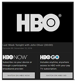 Last Week on HBO