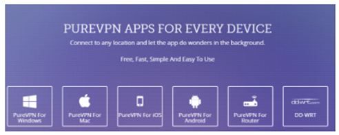 PureVPN Apps and Compatibility