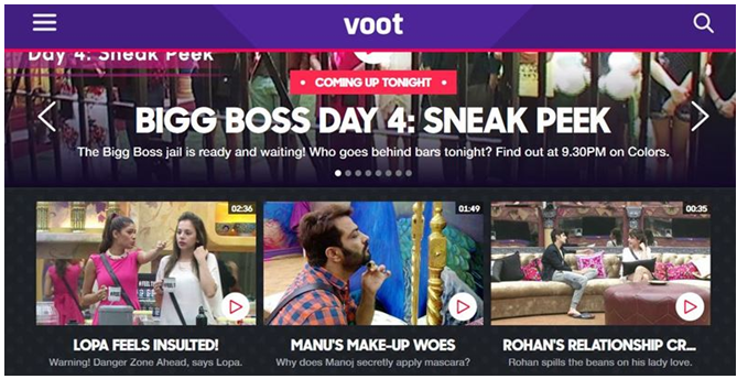 Unblock Voot Outside India