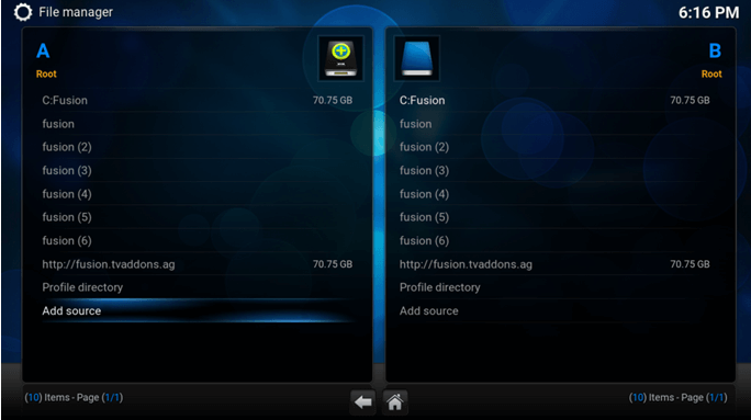 configure exodus on kodi step 2