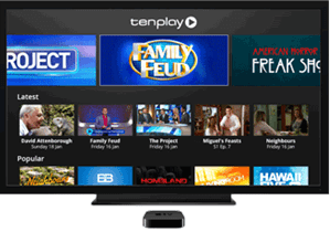 how to watch tenplay on apple tv