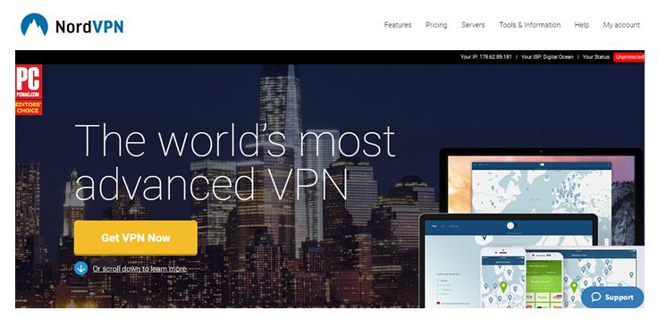 Nord VPN p2p