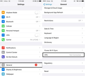how to setup iphone 6/6s vpn