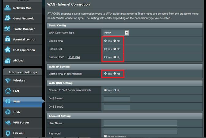 configure kodi wan ip