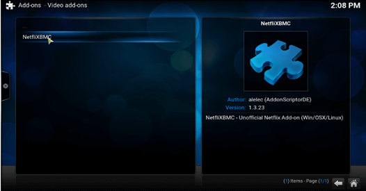 install netflix on kodi windows step 7