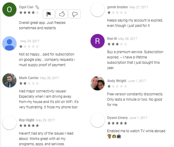 PureVPN Android Apps Reviews on Google Play