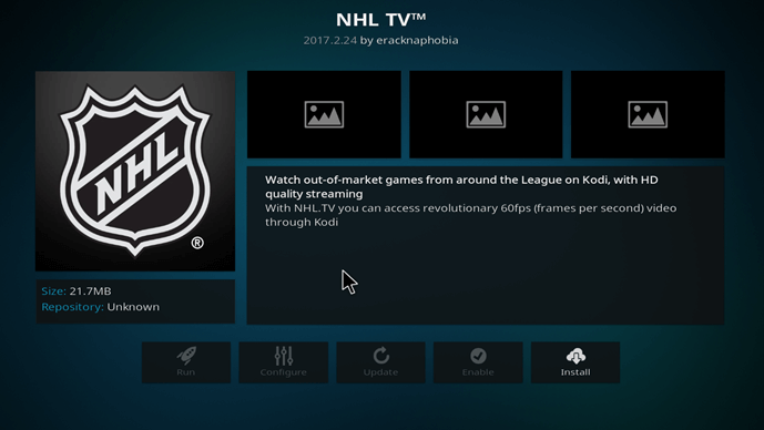 how to watch nhl on kodi xbmc free