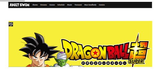 Toonami Live Stream Dragon Ball Super