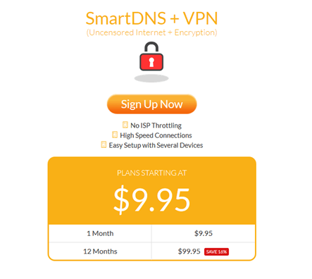 overplay smartdns + vpn
