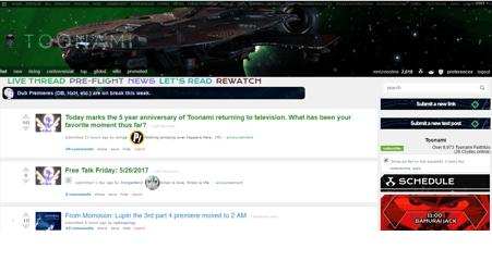 toonami live stream reddit