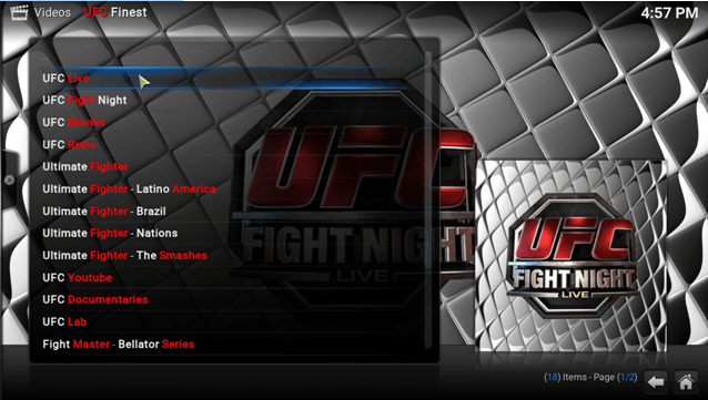 how to watch ufc 209 live online on kodi xbmc