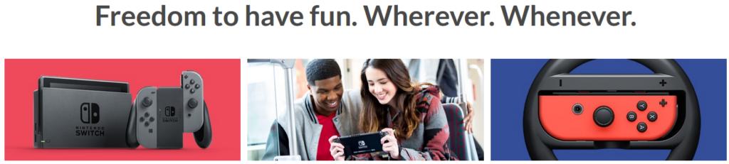 Nintendo switch vpn