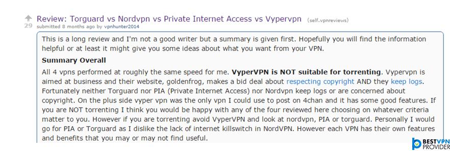 nordvpn comparisons