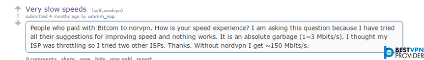 nordvpn slow speeds