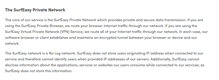 surfeasy vpn logs policy review