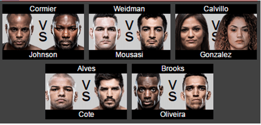ufc 210 live fights