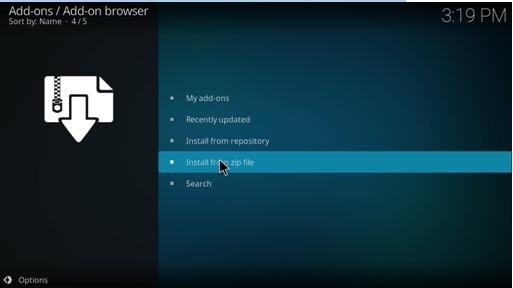 acestream kodi addon install zip file
