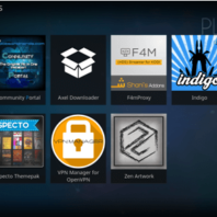 acestreams kodi addon