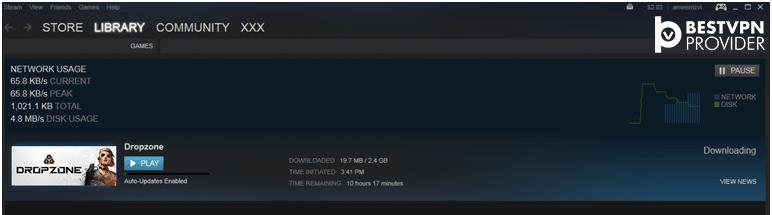 dropzone download steam