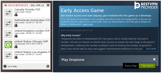 dropzone early access on steam