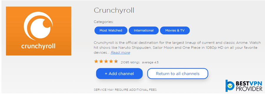 funimation subtitles on roku using crunchyroll
