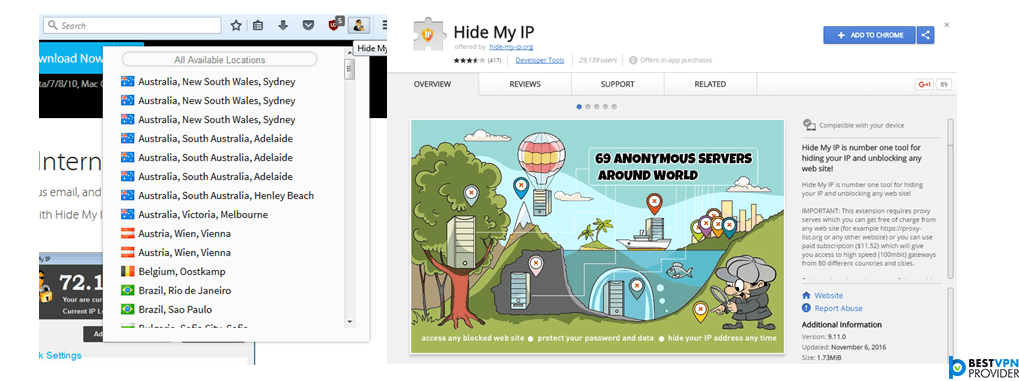 hide my ip apps and extensions review